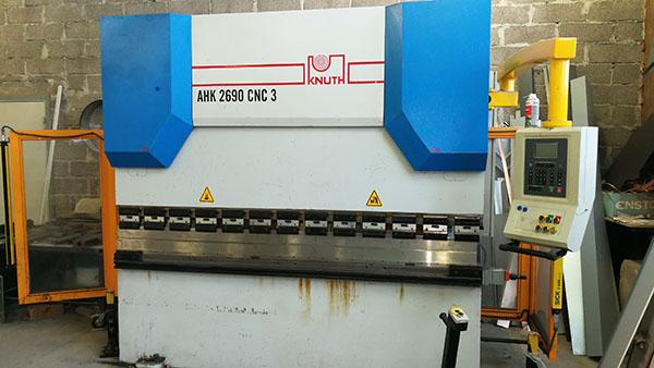 CNC lehtmetalli painutuspink